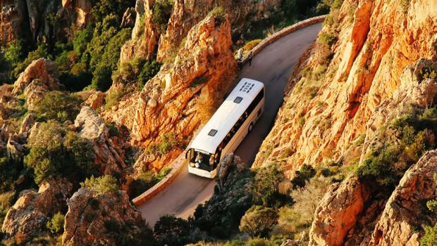 Busfahrt - Anreise für Abireise / Jugendreise
