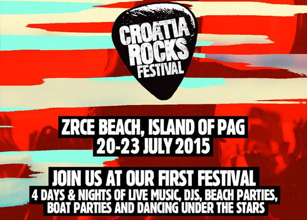 Croatia Rocks - Festival Novalja Kroatien