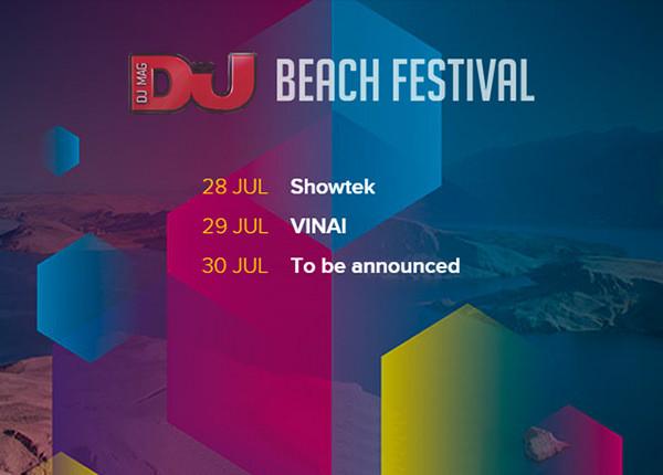 DJ Mag Beach Festival Novalja Kroatien