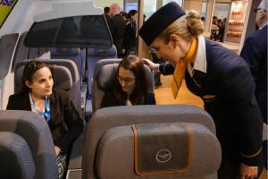 Nachbau einer Lufthansa Firstclass