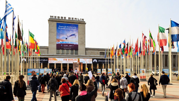 ITB 2015 Eröffnung Eingang