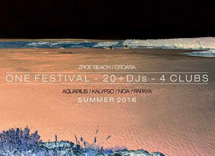 One Festival Zrce Beach Novalja