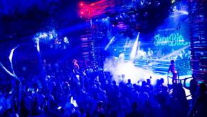 Partyurlaub Novalja Nightlife Bühne