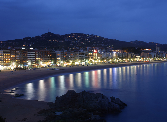 Lloret by night Ausflug - Malgrat de Mar - Nacht