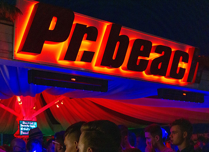 Beachparty Goldstrand am PR Beach