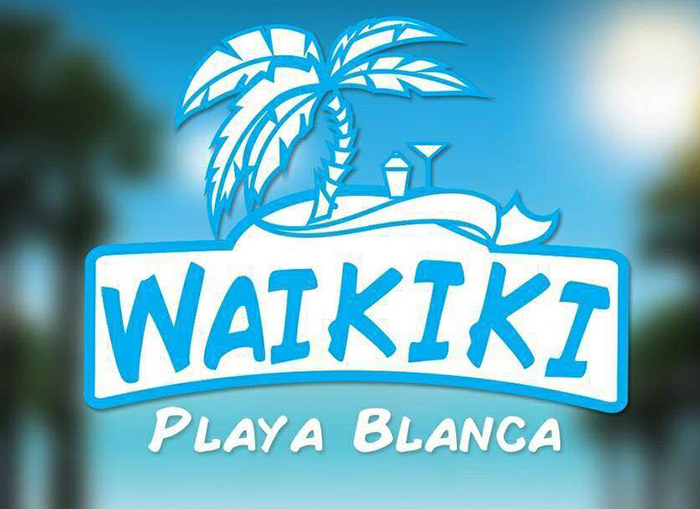 Waikiki Beach Bar Malgrat de Mar - Logo