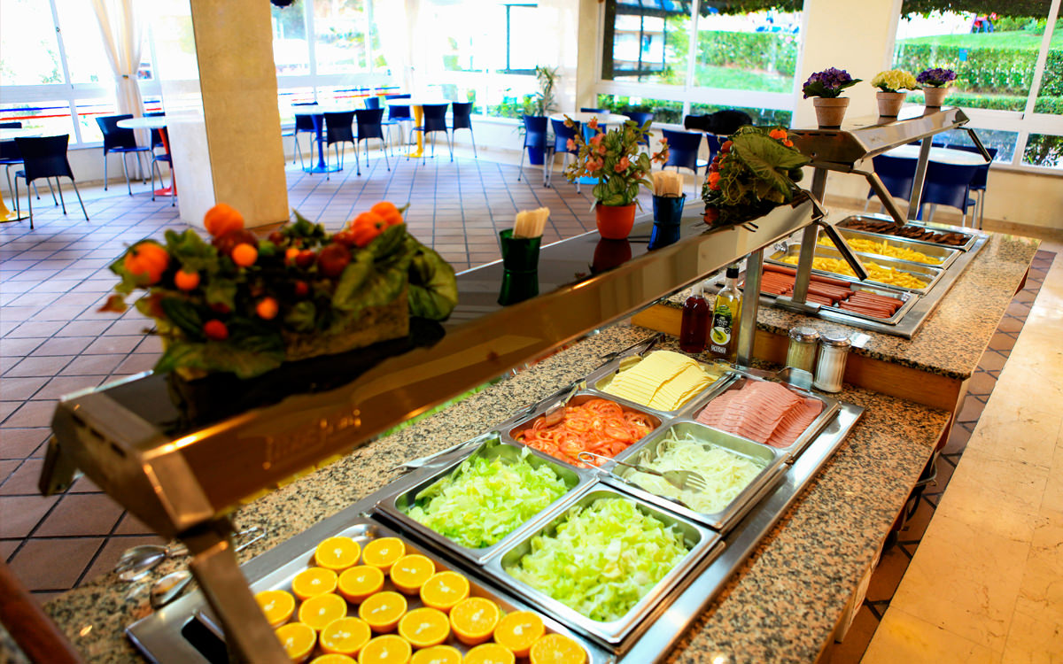Hotel Palma Bay Club Resort - Mallorca - Salatbuffet