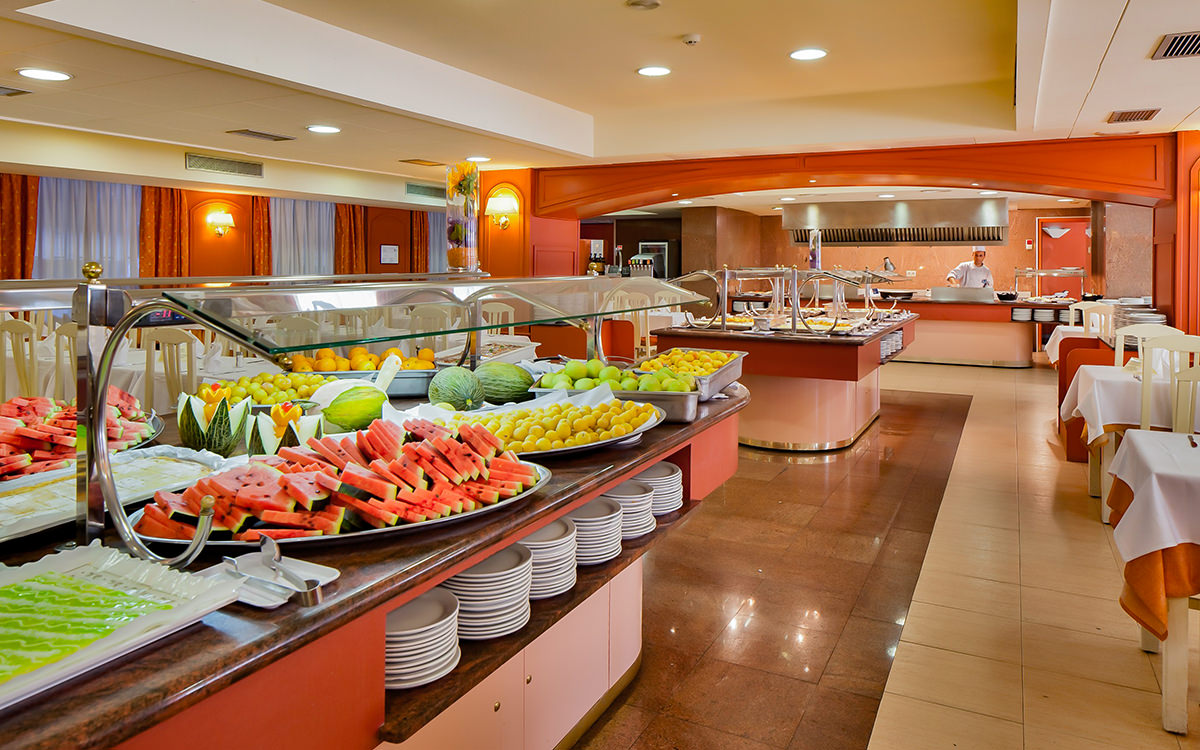 Hotel Calella Palace - Calella - Obst Buffet